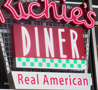 Real American Diner Poster
