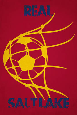 Real Salt Lake Goal Poster by Joe Hamilton
