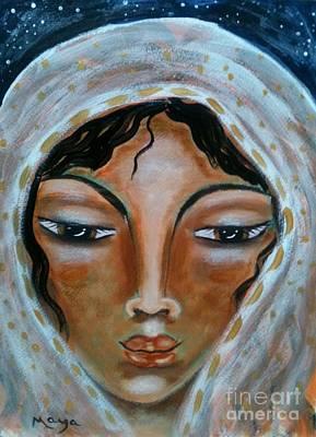 Rebekah Poster by Maya Telford