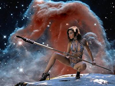 Rebel Warrior Poster