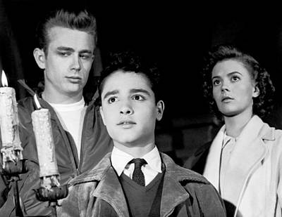 Rebel Without A Cause, From Left, James Poster