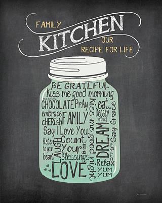 Recipe Jar Poster