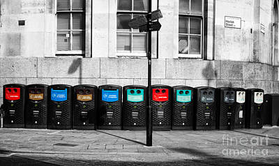 Recycle Please Poster by Christos Koudellaris