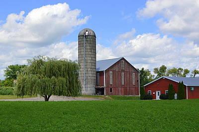 Red Barn #1 - Mifflinburg Pa Poster