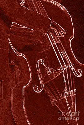 Red Bass Poster by James L. Amos