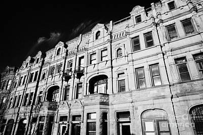 Red Brick Apartment Building Upper New York City Poster by Joe Fox