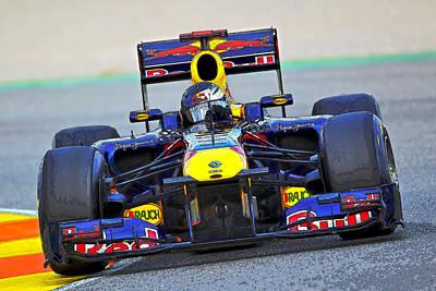Red Bull Formula 1 Racing Poster