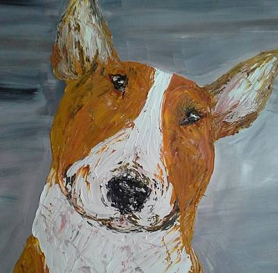 Red Bullie Poster by Janette Ireland