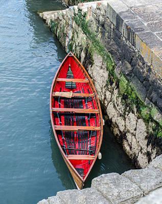 Red Canoe Poster