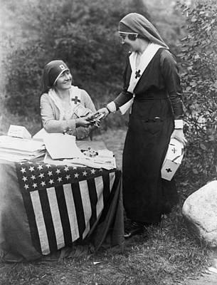 Red Cross Fundraiser, 1917 Poster by Granger