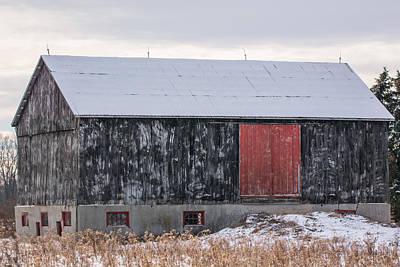 Red Door Barn Poster