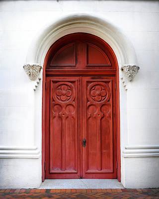 Red Door Poster