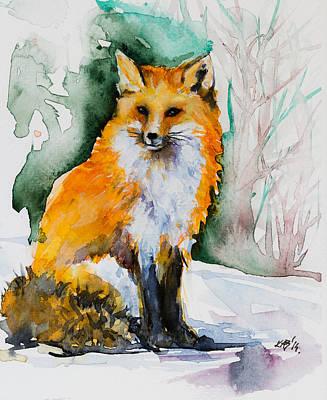 Red Fox Poster by Kovacs Anna Brigitta