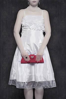 Red Handbag Poster