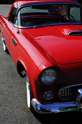 Red Hot Thunderbird Poster by Luke Moore