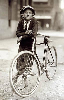 Red Light District Messenger Boy - 1913 Poster