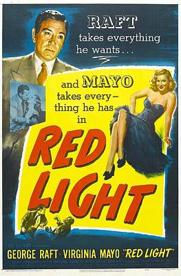 Red Light, Us Poster, George Raft Poster by Everett