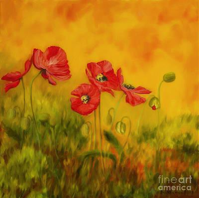 Red Poppies Poster by Veikko Suikkanen