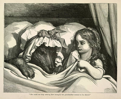 Red Riding Hood Poster by British Library