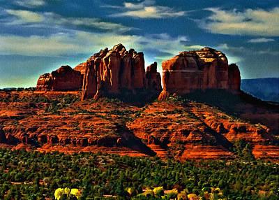 Red Rock State Park Arizona Sunrise Poster