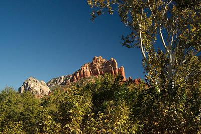 Red Rocks Oak Creek Canyon Sedona 2 Poster