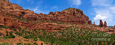 Red Rocks Of Sedona  Poster by Amy Cicconi