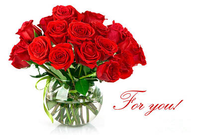 Red Roses For You Poster