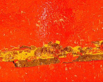Red Rusty Backgound Poster by Dutourdumonde Photography