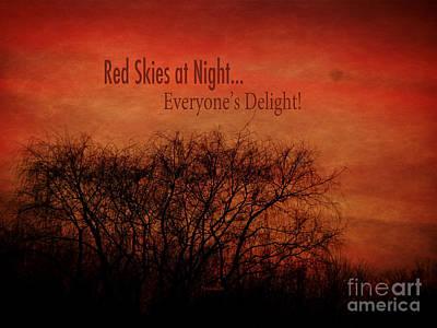 Red Skies Poster