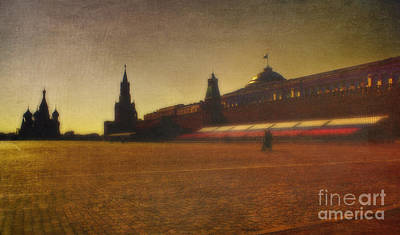 Red Square Moscow Poster