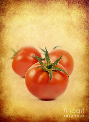 Poster featuring the photograph Red Tomato by Mohamed Elkhamisy