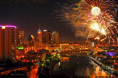 Red White And Boom Photo Poster