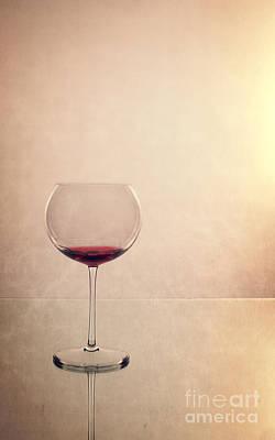 Red Wine Poster by Edward Fielding