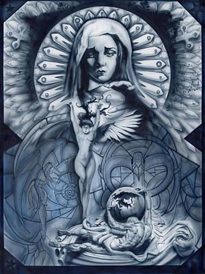 Redemption Poster by Luis  Navarro
