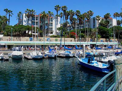 Redondo Beach Marina Poster