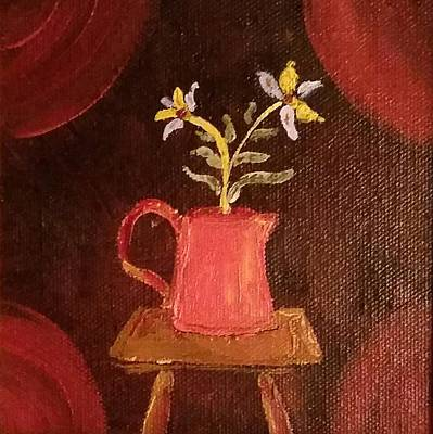 Redware Pitcher Poster by Alida Haslett