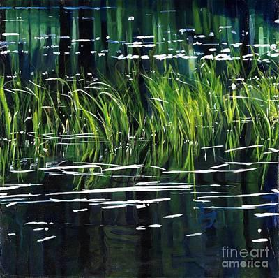 Reeds Poster by Carina Mascarelli