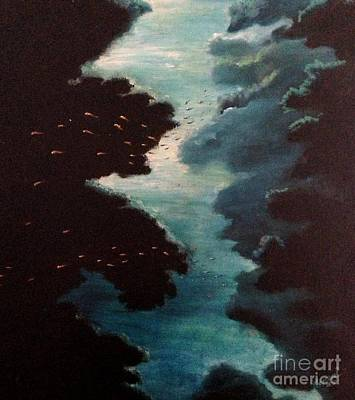 Reef Pohnpei Poster by Karen  Ferrand Carroll