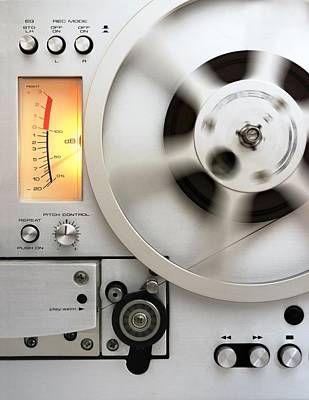 Reel To Reel Poster by Jim Hughes