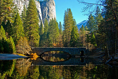 Reflecting On Yosemite Poster by Bill Gallagher