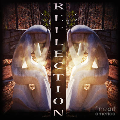Reflection Poster by Eva Thomas
