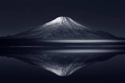 Reflection Mt. Fuji Poster