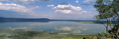 Reflection Of Clouds In Water, Lake Poster by Panoramic Images