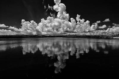 Reflection Of Clouds Poster by Kevin Cable