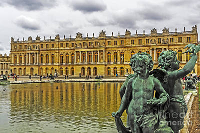 Reflection Pool Of Versailles Poster