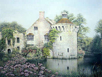 Poster featuring the painting Reflections Of England by Rosemary Colyer