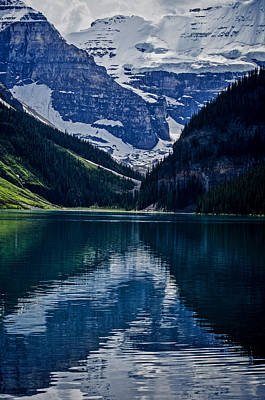 Reflections Of Lake Louise - Banff National Park Poster by Jordan Blackstone
