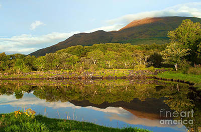 Reflections On Loch Etive Poster