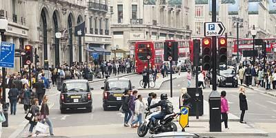 Regent Street London Poster