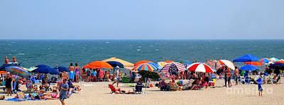 Rehobath Beach Delaware Poster by Patti Whitten